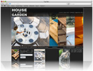 House and Garden website